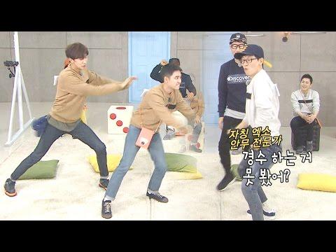 Kwangsoo & Jae Suk, EXO 'Growl' Dance Cover! 《Running Man》 EP459
