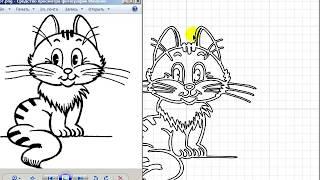 Урок 51. Рисуем кота в Bixelangelo 4 для BluffTitler 13.