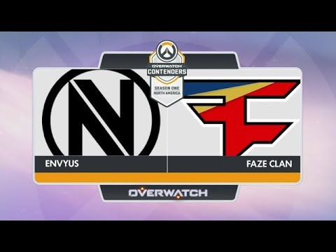 EnVyUs vs FaZe Clan (Part 1) | OW Contenders Season One: North America [Grand Final]