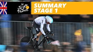 Summary - Stage 1 - Tour de France 2017