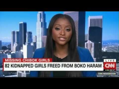 82 Kidnapped girls freed by Boko Haram in Nigeria