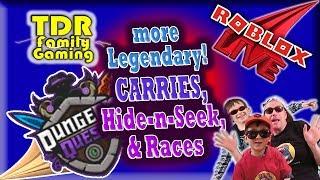 DQ Live: more Legendary Carries, Races, & Hide-n-Seek! - Roblox Live Stream