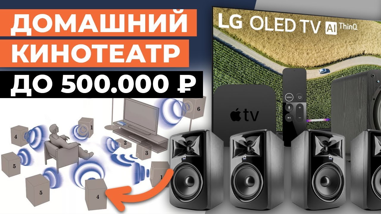Из чего собрать домашний кинотеатр? / Бюджетный домашний кинотеатр до 500 000 рублей