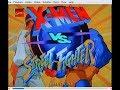 X-Men Vs Street Fighter On MAME