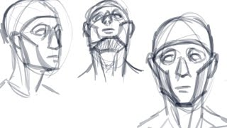 """Cheek-First"" Face Structure Drawing Method!"
