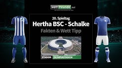 Bundesliga Prognose & Wett Tipp  Hertha   Schalke   2019 20