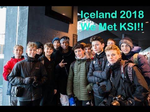 Iceland 2018 - We Met KSI!!