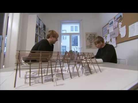 Norwegian designer Jonas R Stokke and Øystein Austad comment on their use of Kebony