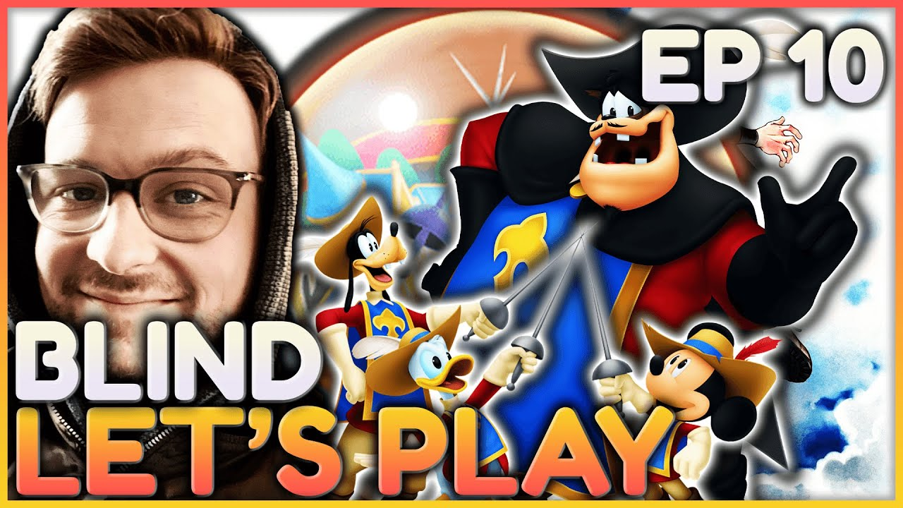 Download Kingdom Hearts Dream Drop Distance Blind Let's Play   Ep 10 Country of The Musketeers