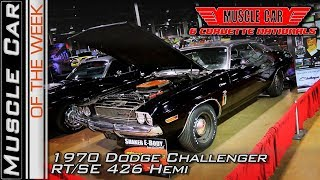 1970 Dodge Challenger RT/SE 426 Hemi at 2017 MCACN Muscle Car Of The Week