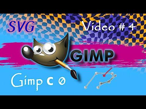 Video#4 | Способы рисования | Контуры, Контуры как инструмент рисования | Gimp с нуля