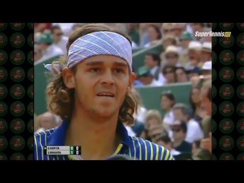 1997 Roland Garros Kuertan vs Bruguera