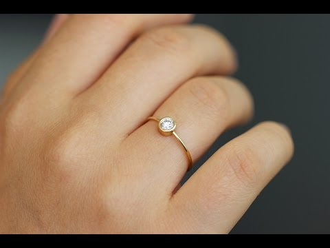 simple engagement rings for her ideas youtube