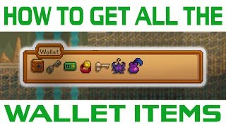 How to Obtain All the Wallet Items in Stardew Valley
