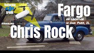 """Chris Rock on Location - FX """"Fargo"""" Season 4 in Oak Park - Plus Drone Footage"""