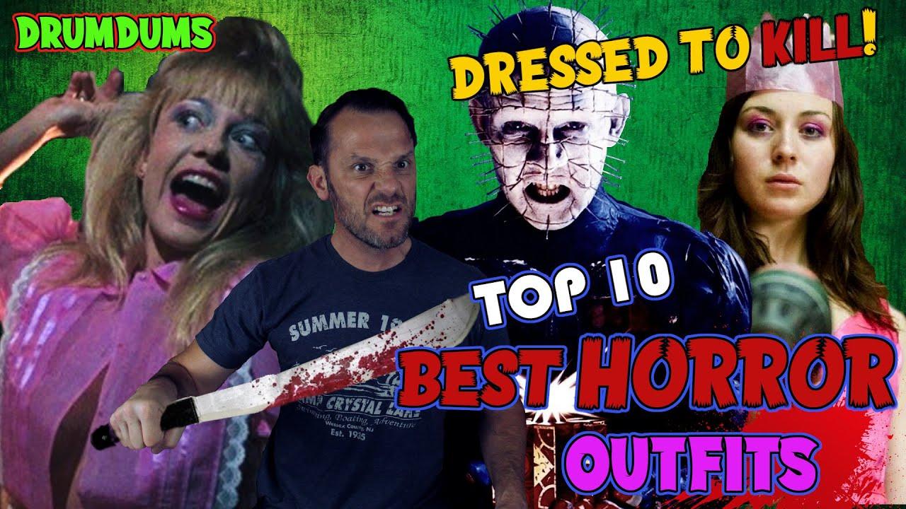 Top 10 (+5 HMs) Horror OUTFITS **Dressed to Kill!** (Destiny Faulkner Request)