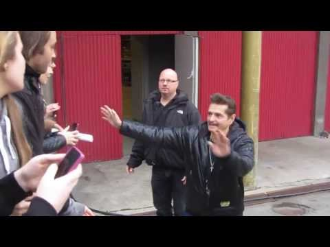 Bruno arriving at Forum, Copenhagen (31/10-13)