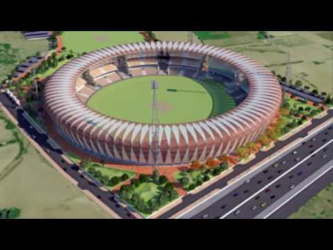 New World Biggest Cricket Stadium In India