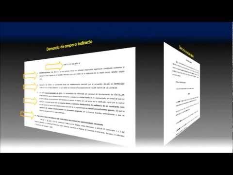 Demanda de amparo indirectoиз YouTube · Длительность: 4 мин27 с
