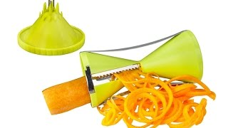Brieftons NextGen Spiralizer - Spiral Slicer Demo