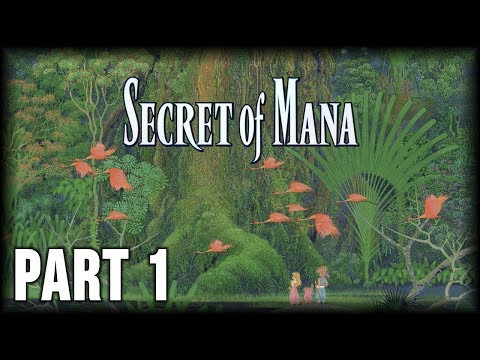 Secret of Mana - 100% Walkthrough Part 1 [PS4] – Intro
