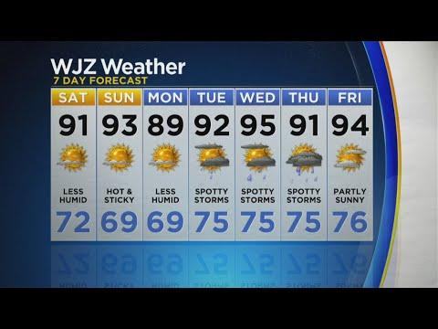 WJZ Saturday News:Weather Forecast