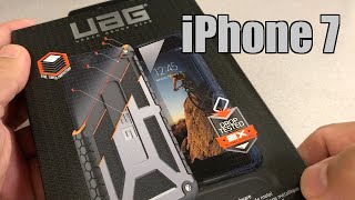 uag iphone 7 monarch rugged military drop tested iphone case