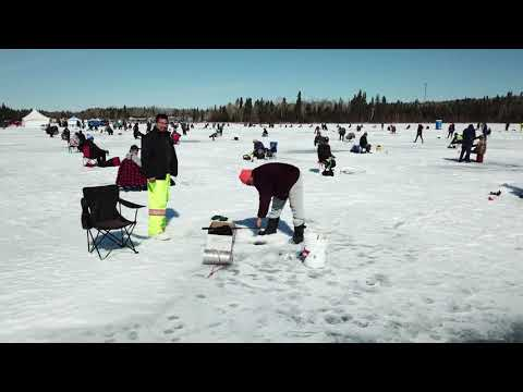 Amisk Lake Ice Fishing Derby 2019