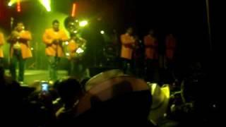 pequea de ojos brujos banda hermanos romero en feria poxtla 2010