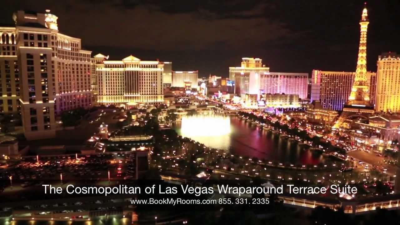 The cosmopolitan of las vegas wraparound terrace suite for Terrace suite cosmopolitan