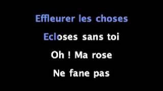 Mozart l'opera rock - Je dors sur des roses (karaoké - instrumental)