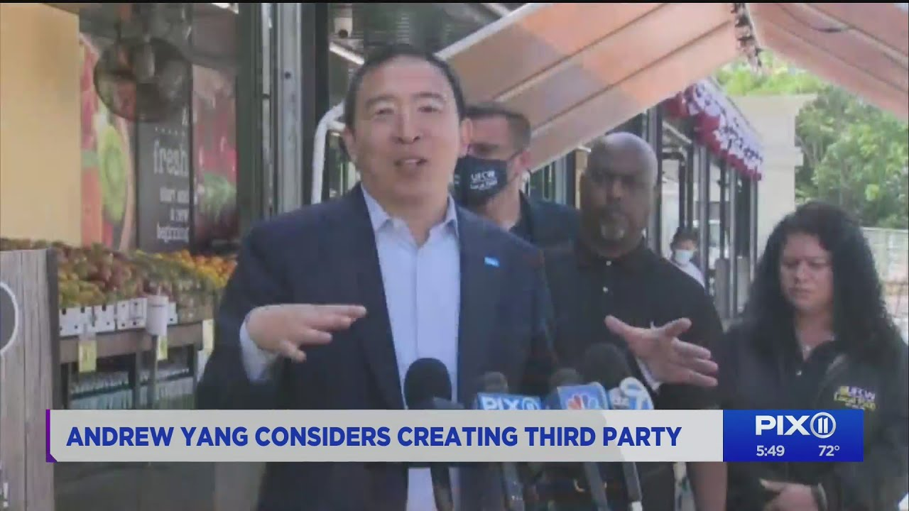 Andrew Yang Launches Forward Party Following Split From ...