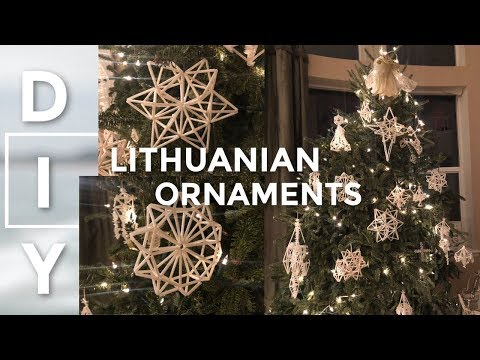 DIY Lithuanian Christmas