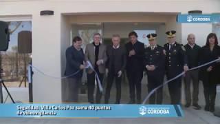 Seguridad: Villa Carlos Paz suma 40 puntos de videovigilancia