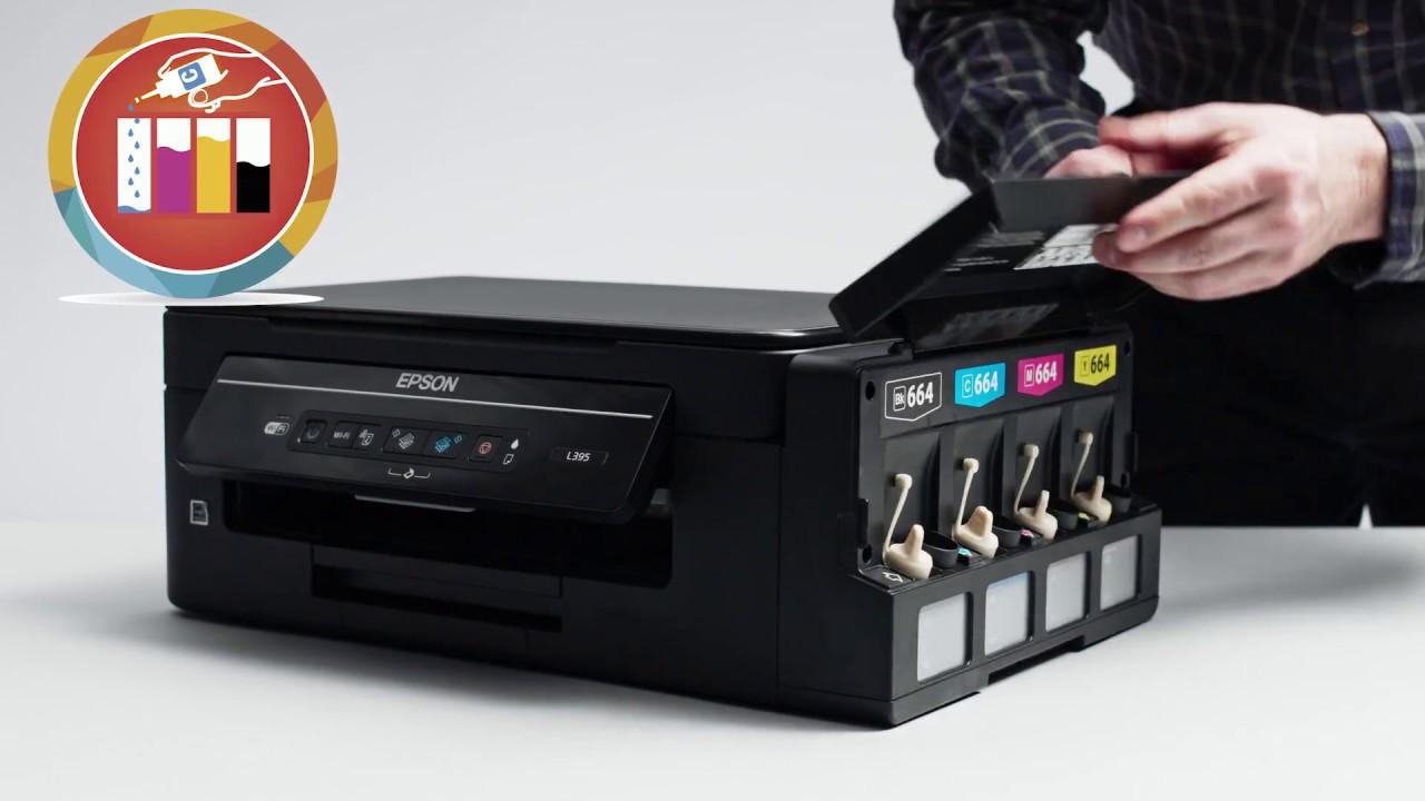 drive da impressora epson l395