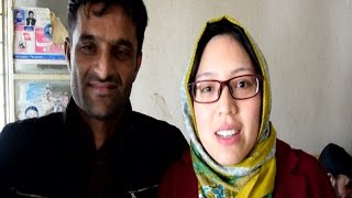 Chinese girl married to Pakistani Boy - Watch video