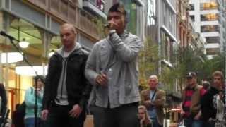 Genesis (Beatboxer) - Live @ Pitt Street.