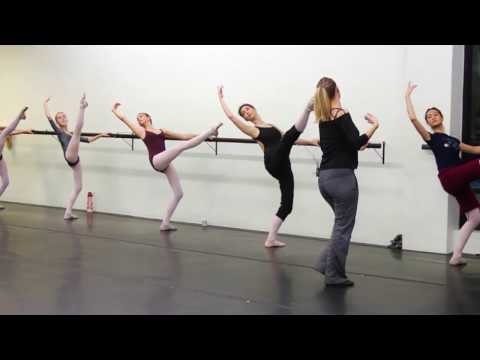 Ballet Warm up and Don Quixote Rehearsal