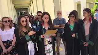 Kadın Hakları Merkezi Başkanı Av. Betül URUK'un basın açıklaması