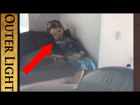 Strange blow up doll pictured in Epstein Panorama documentary