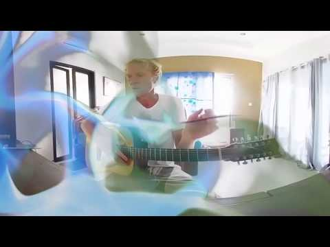 360 Virtual Reality Music Video Rock Guitar Licks on a Fender 12 String Acoustic