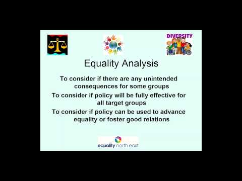 Ixion Partner Webinar: Equality & Diversity by Equality North East