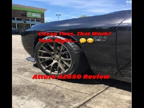 2016 Dodge Challenger ScatPack Atturo AZ850 Tire Review ...