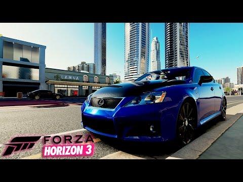 Моя Японская 5-ти литровая мечта - Lexus ISF | Forza Horizon 3