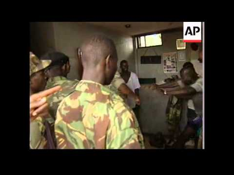 SIERRA LEONE: TOUGH ACTION BEING TAKEN AGAINST SUSPECTED LOOTERS