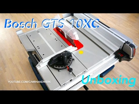 bosch gts 10 xc table saw review doovi. Black Bedroom Furniture Sets. Home Design Ideas
