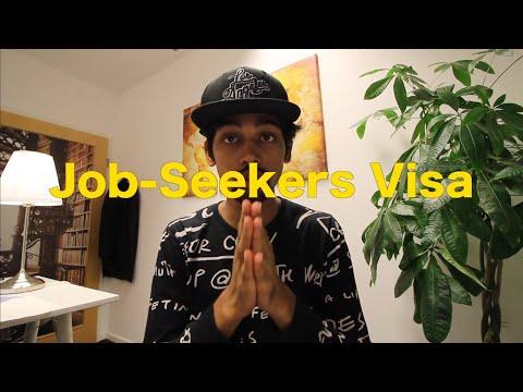 German Job Seeker Visa / 6 Month Visa Just For Searching A Job In Germany