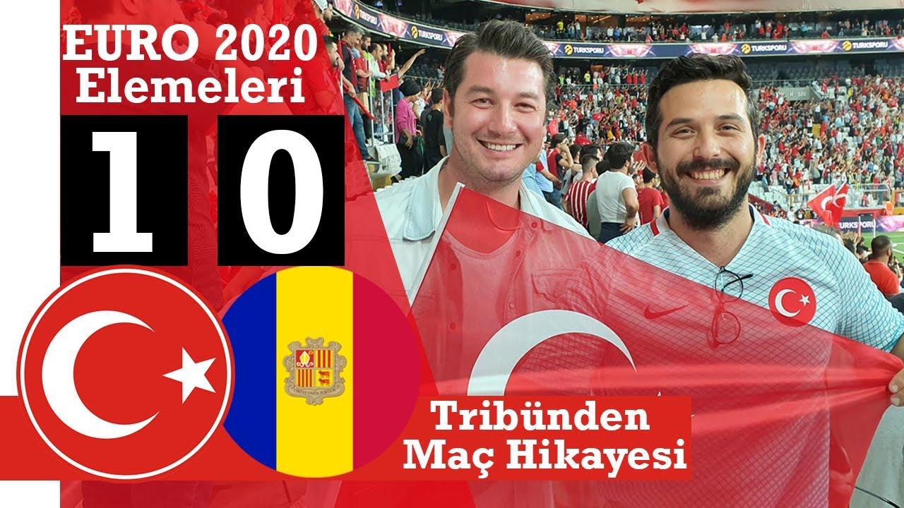 İlk Defa Milli Maça Gittim! | Ozan Tufan Attı Galibiyet Geldi! | Türkiye - Andorra | Hedef Euro 2020