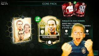 FIFA MOBILE S2 ICONS BUNDLE OPENING | ICONS RONADINHO PULLED+SO MANY ELITES