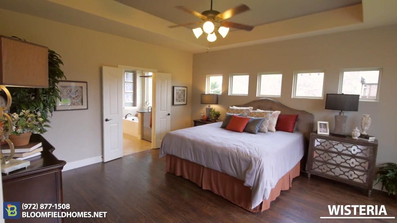 Wisteria Floor Plan New Homes in DFW – Bloomfield Homes Floor Plans